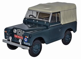 Land Rover Series II SWB Canvas - Royal Air Force Police