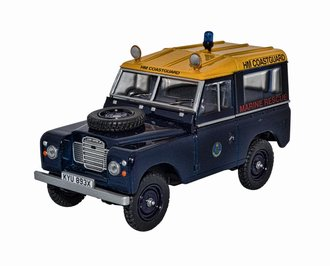"Land Rover Series III SWB Station Wagon ""Her Majesty's Coastguard"""