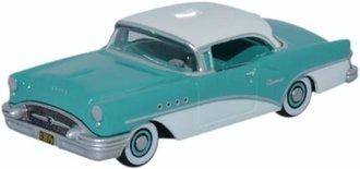 1:87 1955 Buick Century (Turquoise/Polo White)