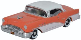1:87 1955 Buick Century (Coral/Polo White)