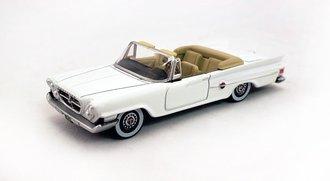 1961 Chrysler 300 Convertible Open (Alaskan White)