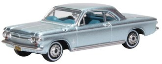 1963 Chevrolet Corvair Coupe (Silver Blue)