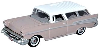 1:87 1957 Chevrolet Nomad (Dusk Pearl/Imperial Ivory)