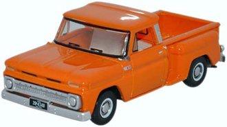1:87 1965 Chevrolet Stepside Pickup (Orange)