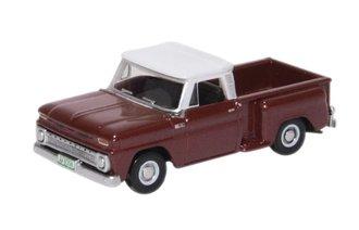 1965 Chevrolet Stepside Pickup (Maroon Metallic)