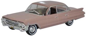 1:87 1961 Cadillac Sedan de Ville (Topaz Metallic)