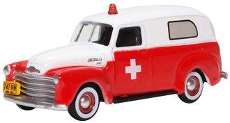 1950 Chevrolet 3100 Ambulance (White/Red)
