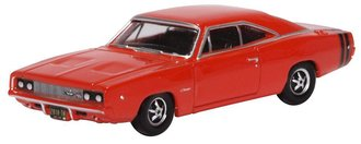 1:87 1968 Dodge Charger (Bright Red)