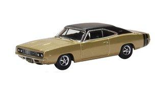 1:87 1968 Dodge Charger (Gold/Black)