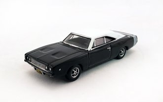 1968 Dodge Charger (Black/White)