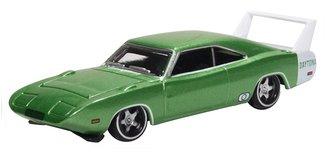 1969 Dodge Charger Daytona (Bright Green/White)