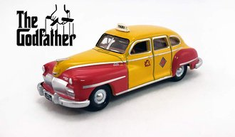 "1:87 1946-48 DeSoto Suburban San Francisco Taxi ""The Godfather"""