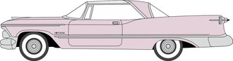1959 Imperial Crown Coupe (Persian Pink/White)