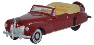 1:87 1941 Lincoln Continental (Maroon)