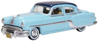 1954 Pontiac Chieftain 4-Door Sedan (Mayfair Blue/San Marino Blue)
