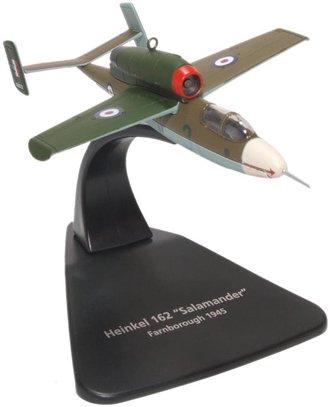 1:72 Heinkel He 162 Volksjager Air Min 61/120072, Royal Air Force, 1945