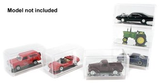 1:64 Auto Display Case (Mirrored Bottom) (6-Pack)