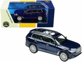1:64 BMW X7 (Blue)