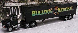 "Mack CH600 w/45' Van Trailer ""Mack Bulldog National"""