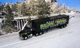 "Mack CH600 w/45' Van Trailer ""Mack Bulldog National - Test Drive Tour"""