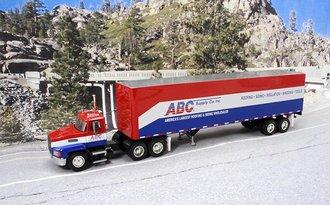 "Mack CH600 w/45' Van Trailer ""ABC Supply Company"""