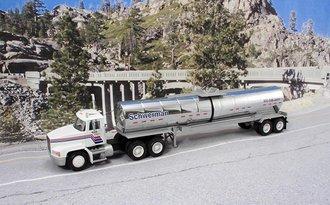 "Mack CH600 w/Chemical Tanker ""Schwerman Trucking"""
