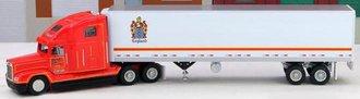 "Freightliner FLD w/45' Reefer Trailer ""C.R. England"""