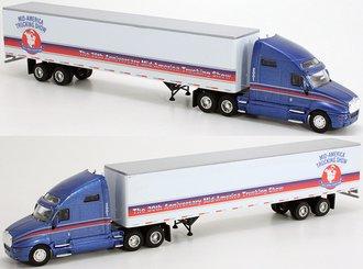 "Kenworth T2000 w/53' Van Trailer ""2001 Mid-America Truck Show"""