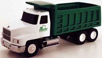 Mack Dump Truck (Green/White)