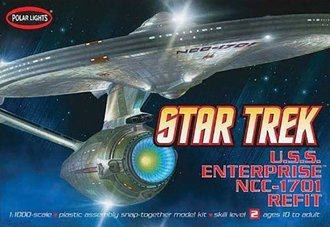 Star Trek - 1:1000 USS Enterprise NCC-1701A (Model Kit)