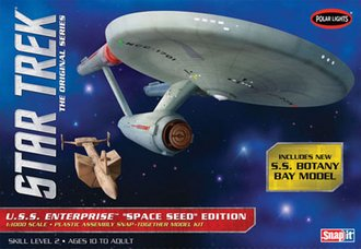 1:1000 Star Trek™ TOS U.S.S. Enterprise Space Seed Ed (Model Kit)