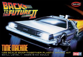 1:25 Back to the Future II Time Machine (Model Kit)