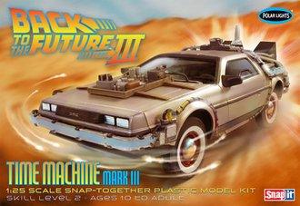 1:25 Back to the Future III Time Machine (Model Kit)