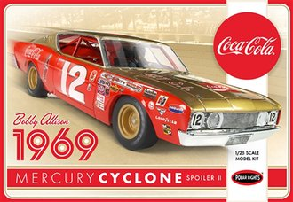 1:25 Coca-Cola Bobby Allison 1969 Mercury Cyclone (Model Kit)
