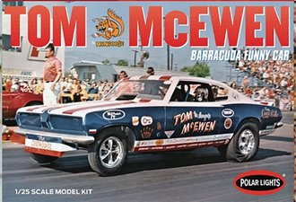 "Tom ""Mongoose"" McEwen 1969 Barracuda Funny Car (Model Kit)"