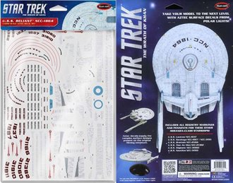 1:1000 Star Trek U.S.S. Reliant 1:1000 Decal Set