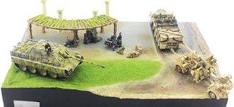Malinava Counterattack Part C - 30cm x 20cm Diorama