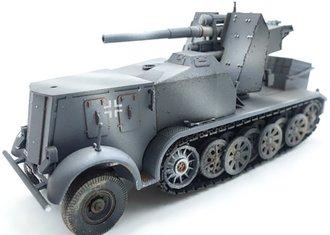 "Sd.Kfz.8 Half Track w/8.8mm FlaK ""German Army"" (Gray)"