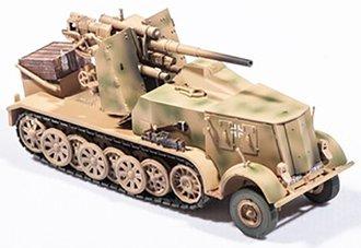 "Sd.Kfz.8 Half Track w/8.8mm FlaK ""German Army"" (Beige)"