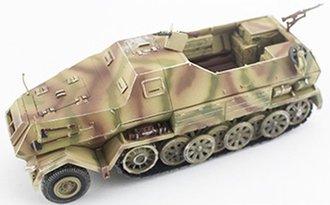 Sd.Kfz.8 DB10 Gepanzerte 12T (Tri-Color Camouflage)