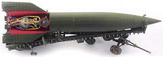 "1:72 V-2 Rocket w/Meillerwagen & Brennstand ""Late Production, Spring 1945"""