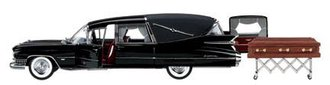 1959 Cadillac Landau Hearse (Black)