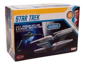 Star Trek U.S.S. Grissom / Klingon BoP (2-Pack) (Snap 2T Model Kit)