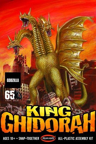 Godzilla - King Ghidorah (Snap Model Kit)