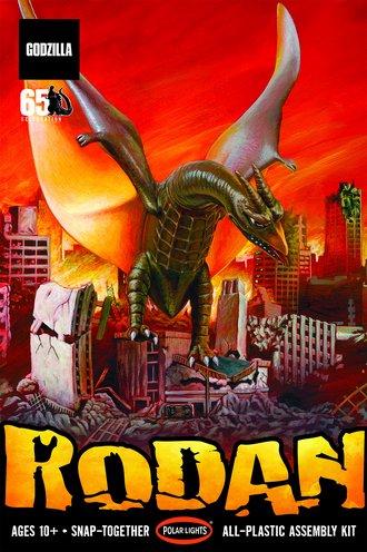 Godzilla - Rodan (Snap Model Kit)