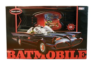 1966 Batman Classic TV Series Batmobile™ (Snap Model Kit)