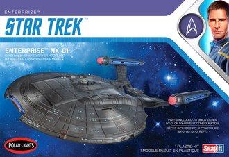 Star Trek NX-01 Enterprise (Snap 2T Model Kit)
