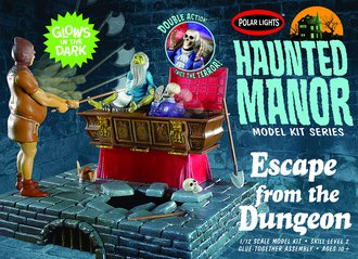 Haunted Manor: Escape from the Dungeon (Model Kit)