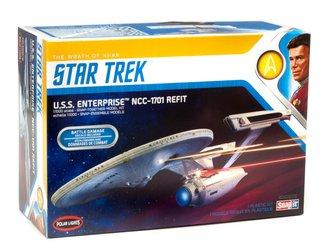 Star Trek U.S.S. Enterprise Refit Wrath of Khan Edition 2T (Model Kit)