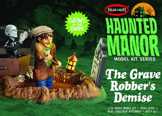 Haunted Manor: The Grave Robber's Demise (Model Kit)